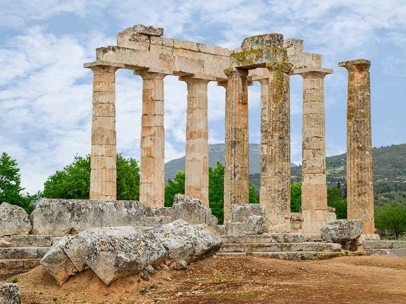 Ancient Nemea  Peloponnisos Search